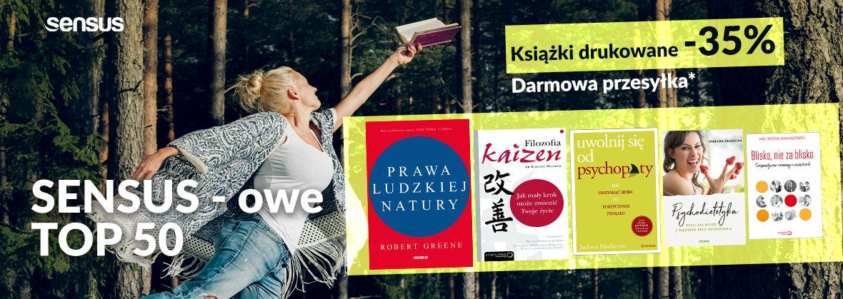 Promocja na ebooki Top 50 ~ Druki -35% | Darmowa przesyłka